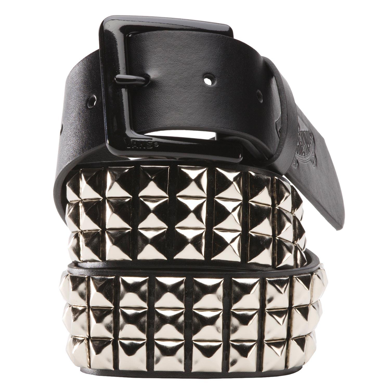 82d00395d4 Belt Vans Studded Leather black silver
