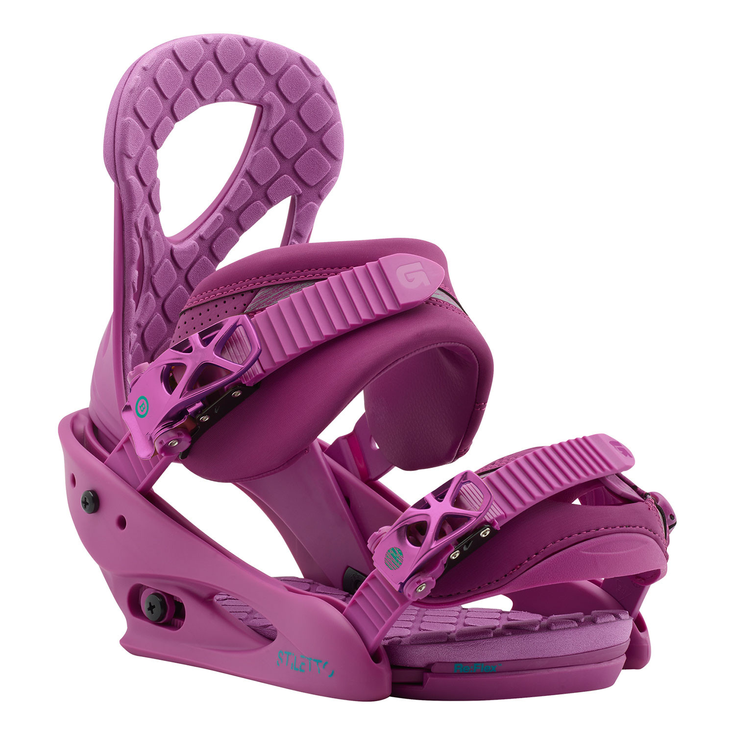 Vázání Burton Stiletto hot purple