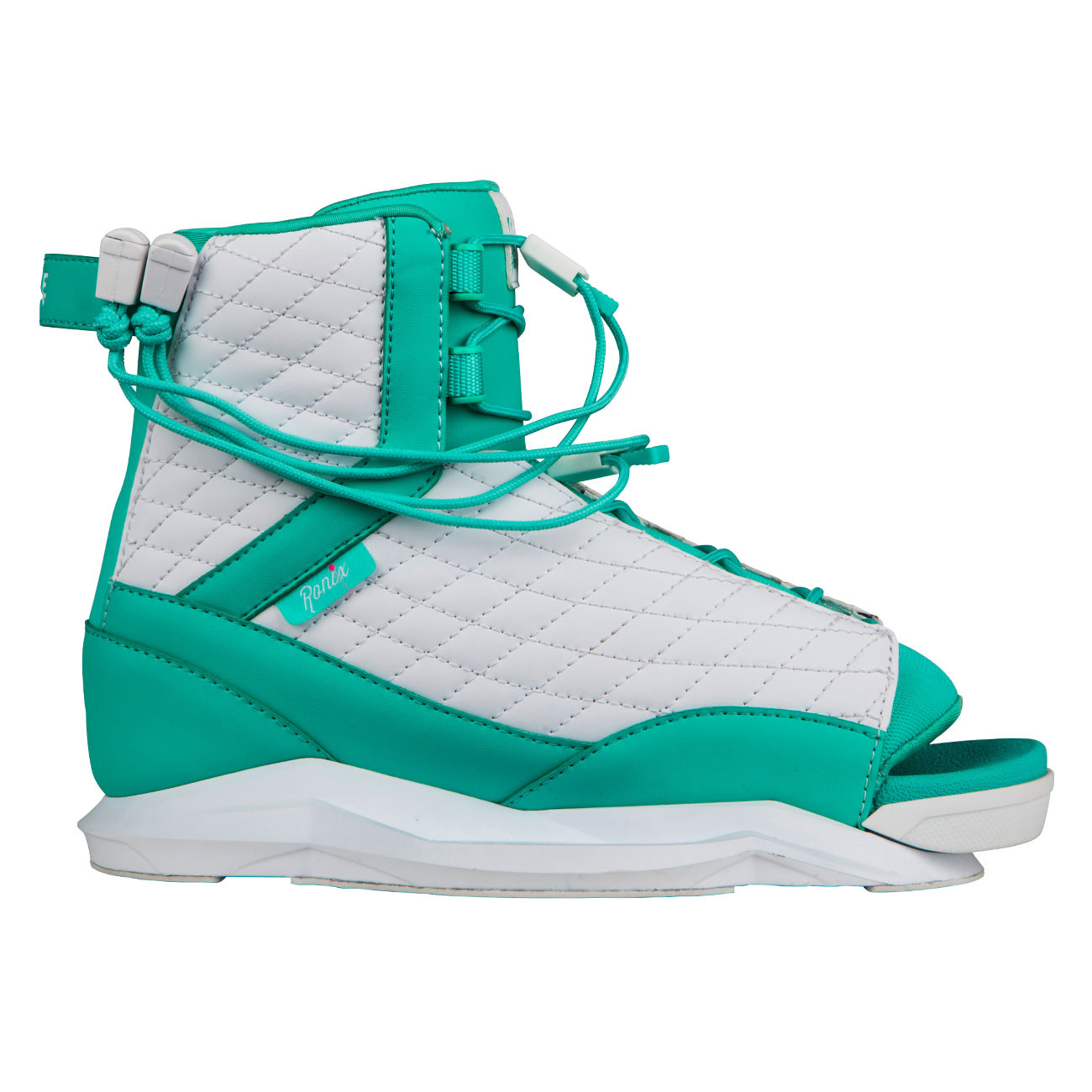 Binding Ronix Luxe White/turquoise