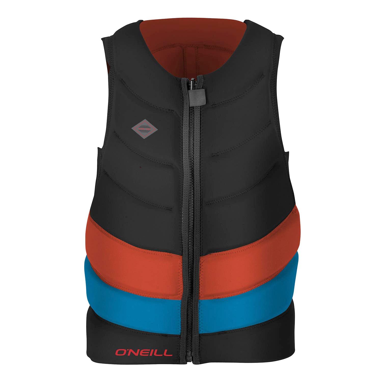 Vesta O'Neill Gooru-Tech Comp Vest black/neon red/brite blue