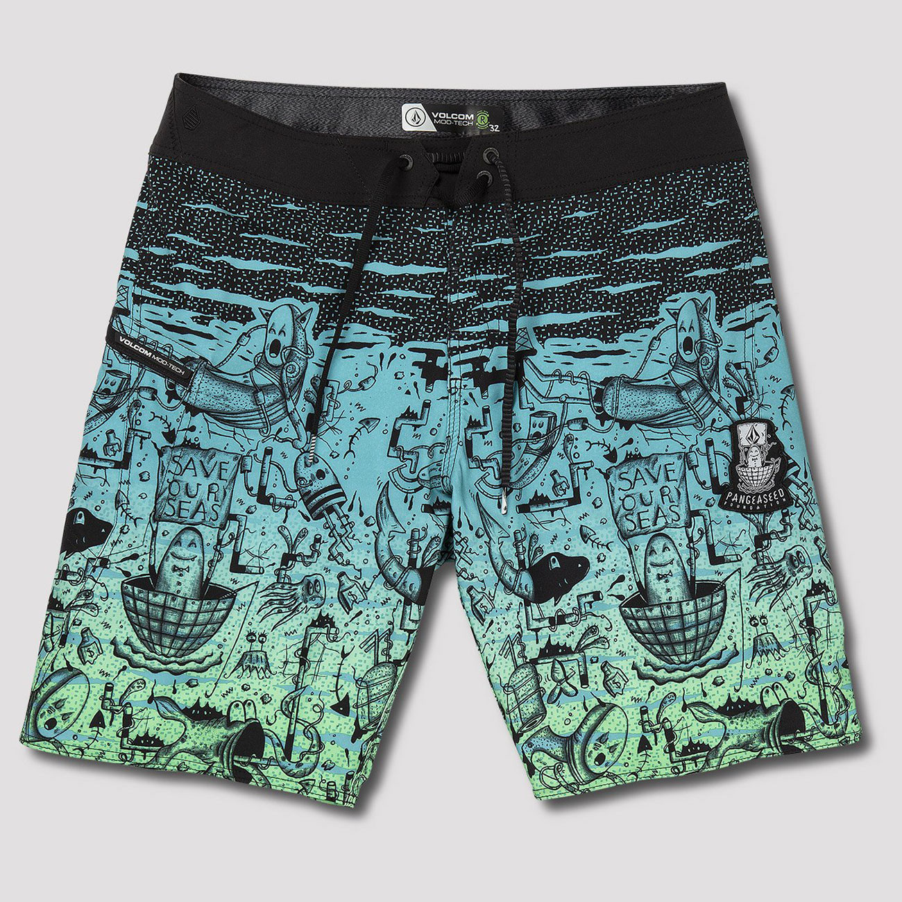Boardshortky Volcom Pangeaseed Mood 20