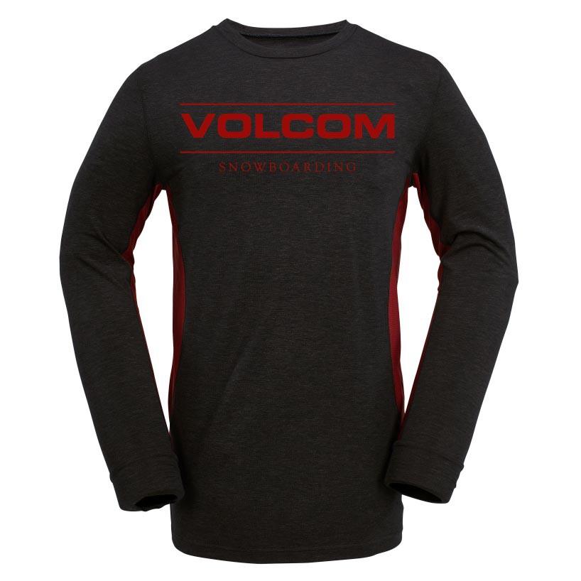 Triko Volcom Tds Base Layer Crew heather black vel.M 16/17 + doručení do 24 hodin