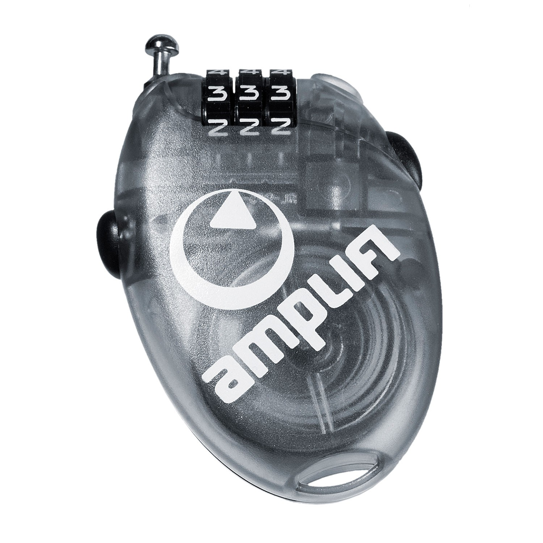 Zámek Amplifi Wire Lock Small clear black