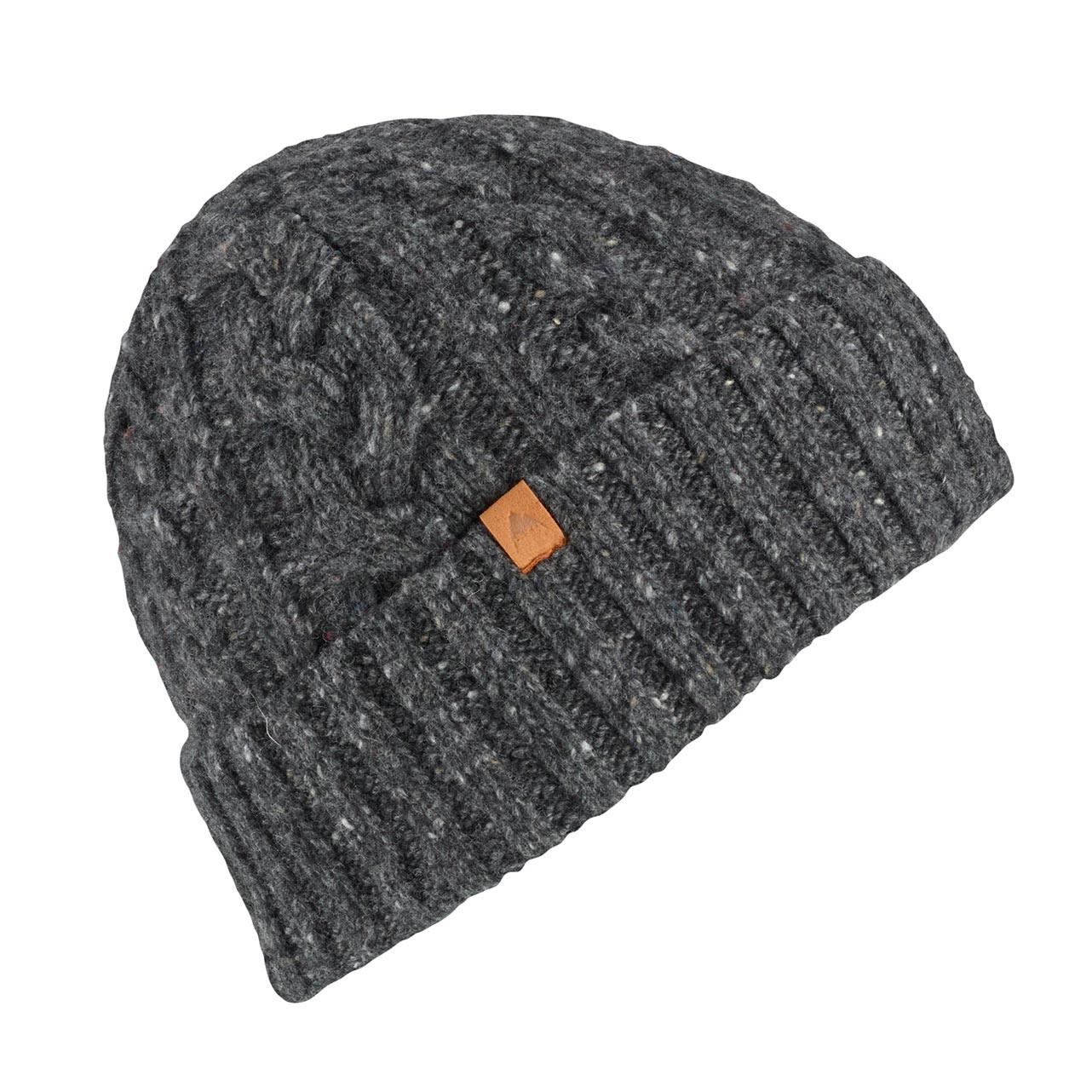 Zimní čepice Burton Bering true black