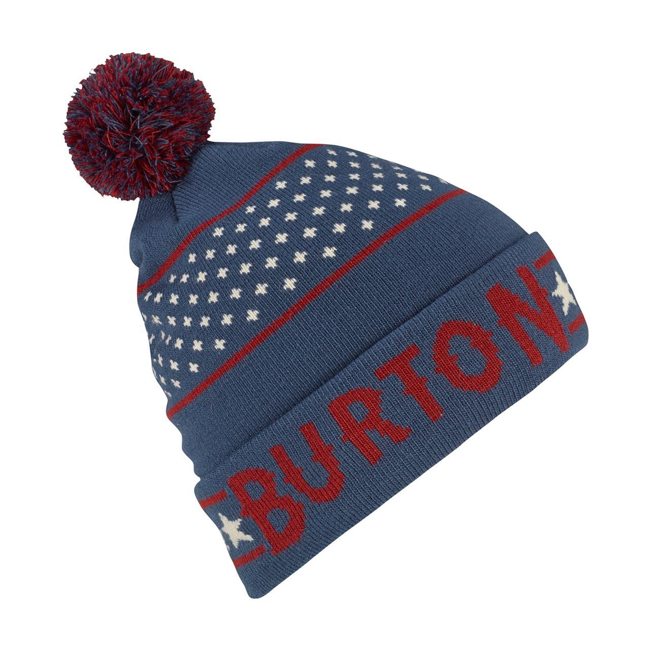Zimní čepice Burton Gramercy mood indigo