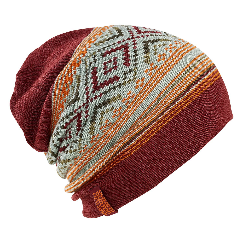 Zimní čepice Burton Poledo tawny