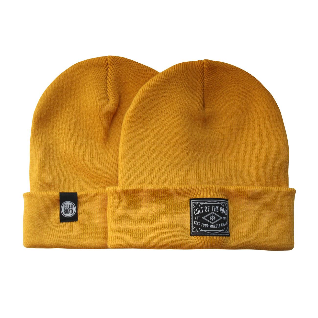 15a6fc6c8 Zimná čiapka Cult Of The Road Basic Beanie mustard | Snowboard Zezula