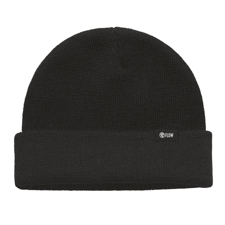 Zimní čepice Flow Fold-Up black