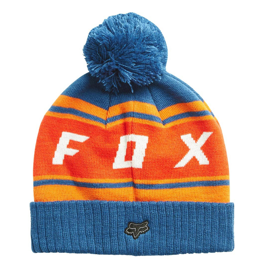 Zimní čepice Fox Black Diamond Pom dusty blue