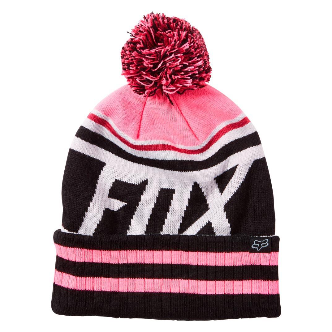 Zimní čepice Fox Dissipate neon pink