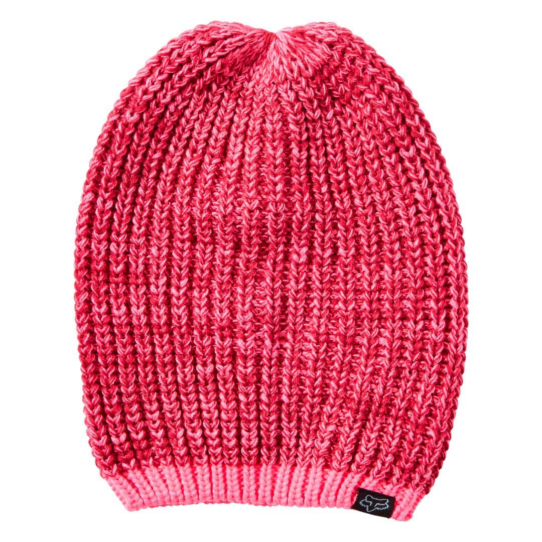 Zimní čepice Fox Process neon pink