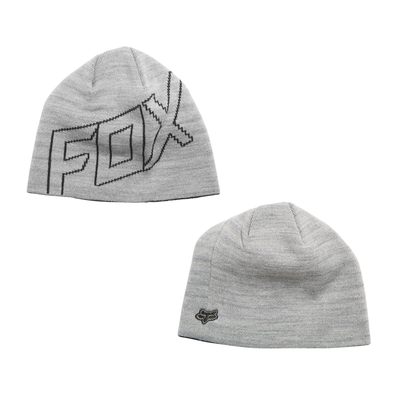 Zimní čepice Fox Ride light grey