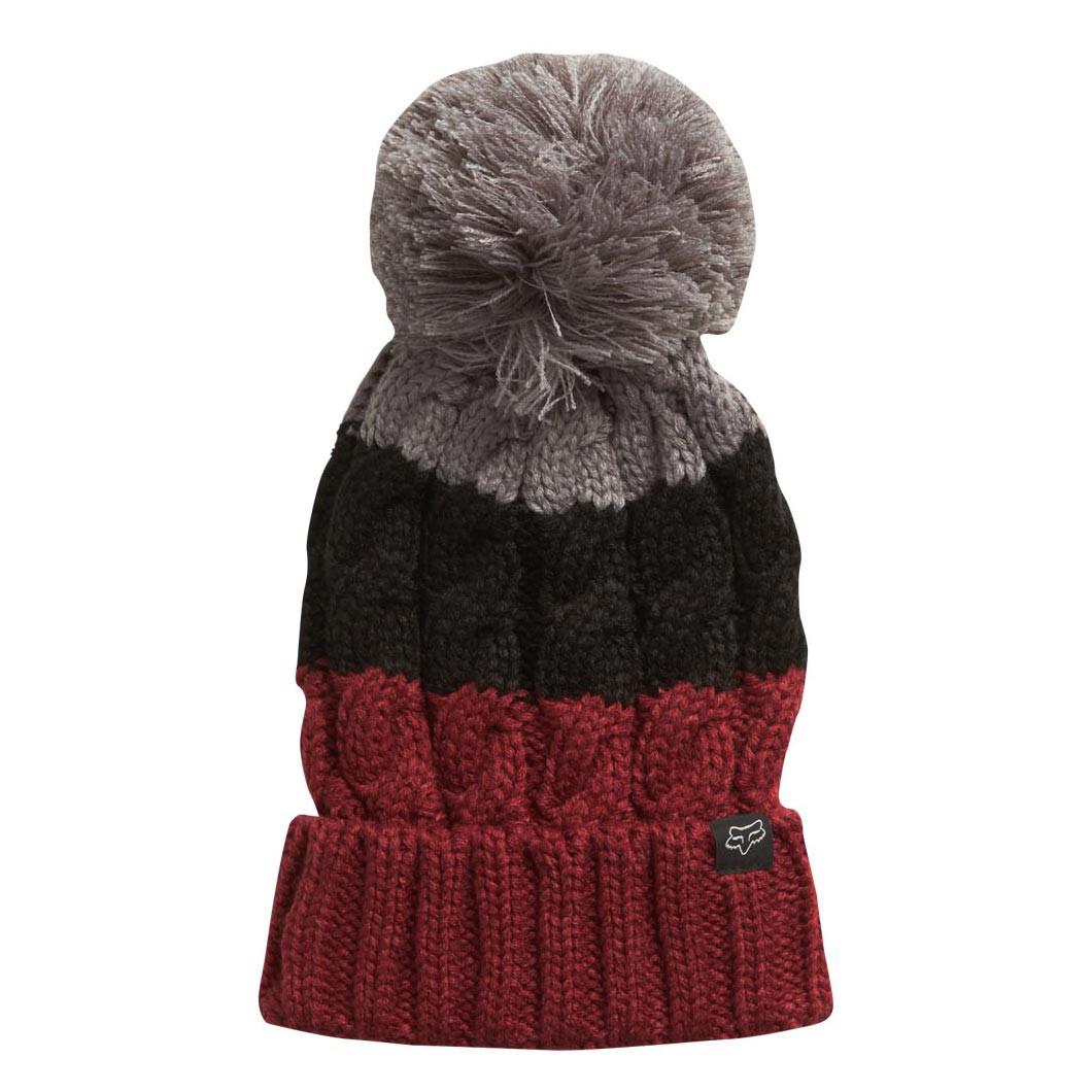Zimní čepice Fox Valence dark red