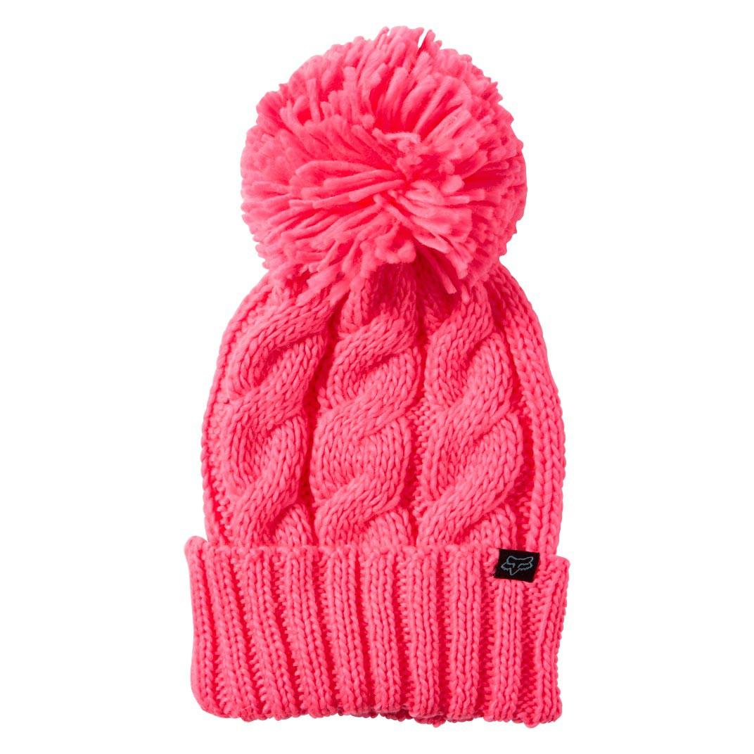 Zimní čepice Fox Valence neon pink