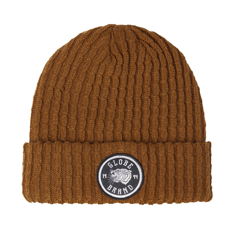 Zimní čepice Globe Lion camel
