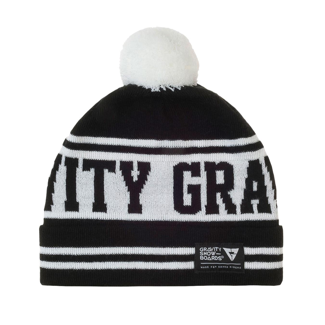 Zimní čepice Gravity Buddy black/white