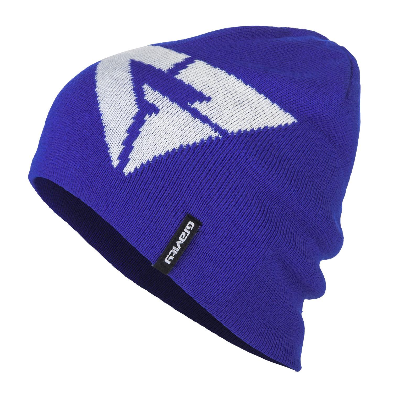 Zimní čepice Gravity Logo blue