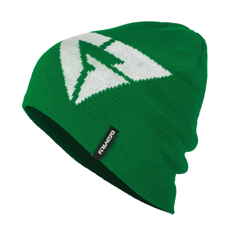 Zimní čepice Gravity Logo green