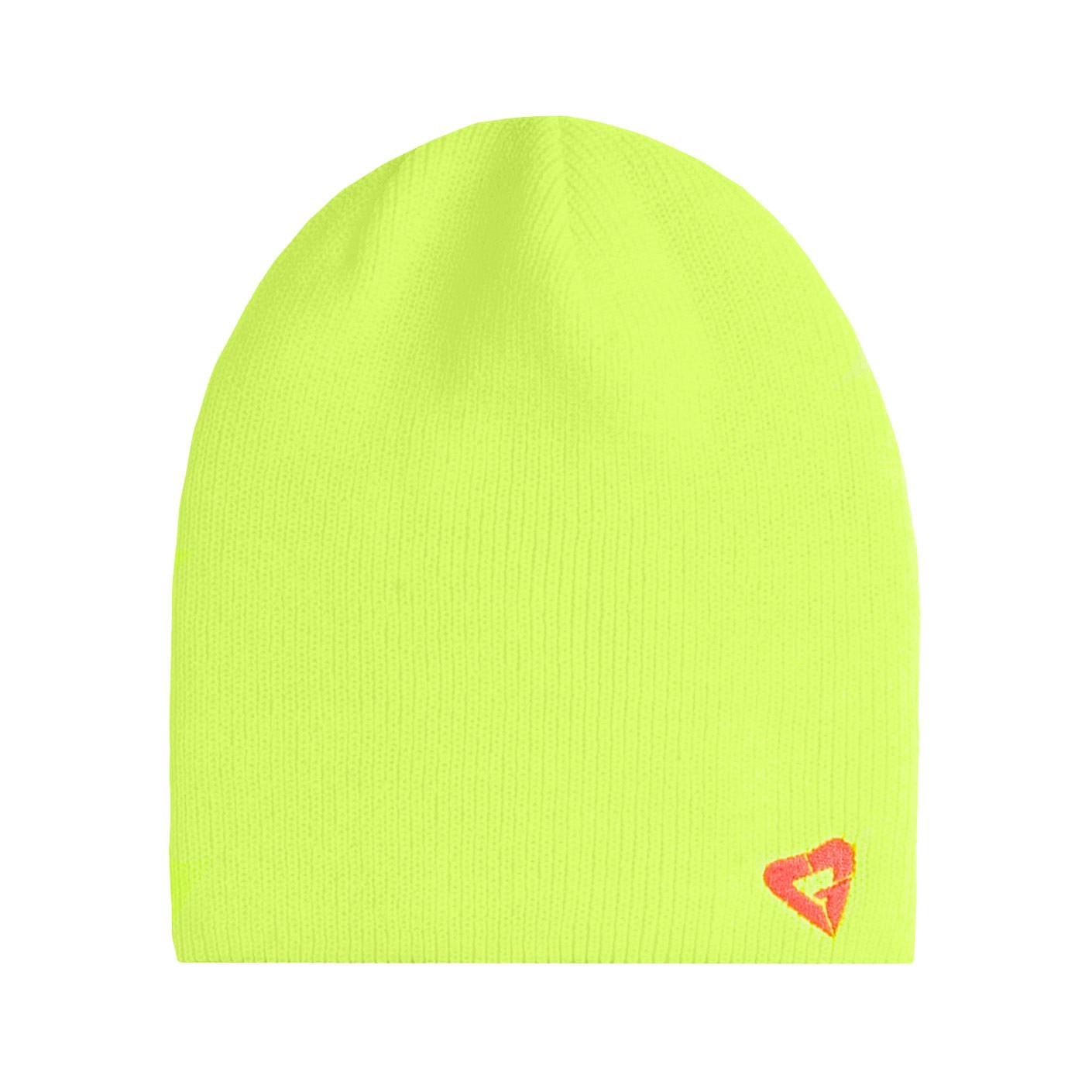 Zimní čepice Gravity Pepita neon yellow