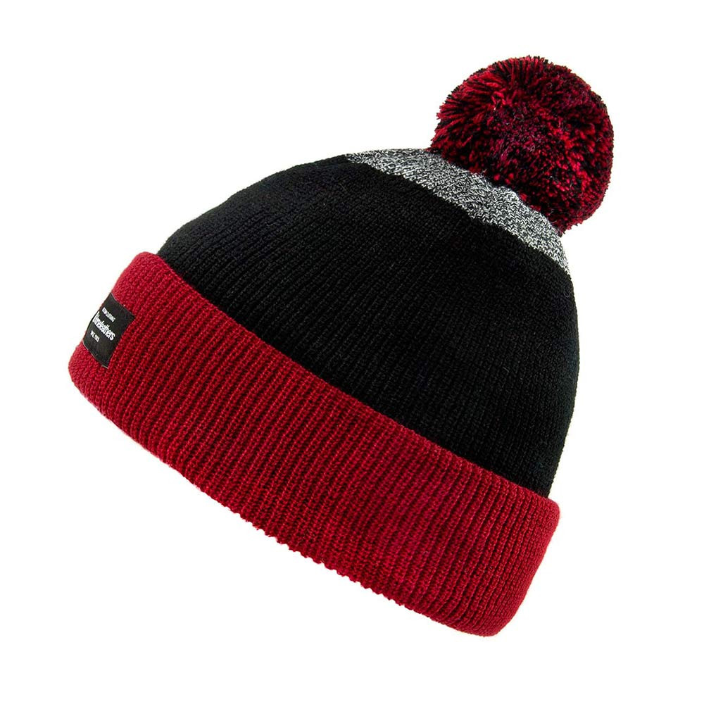Zimní čepice Horsefeathers Ann persian red