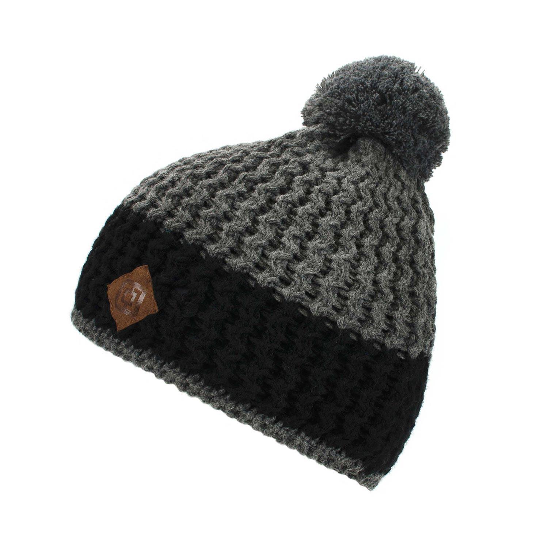 Zimní čepice Horsefeathers Archer black