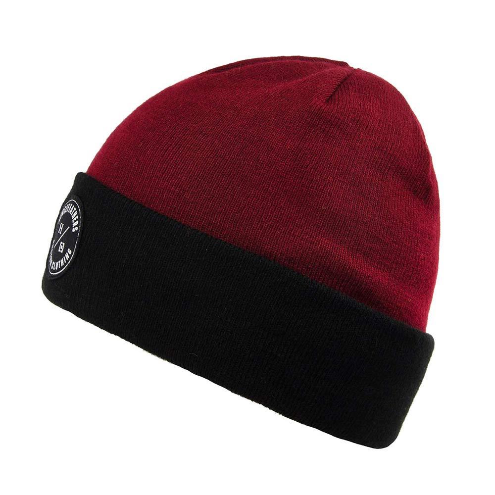 Zimní čepice Horsefeathers Argon ruby