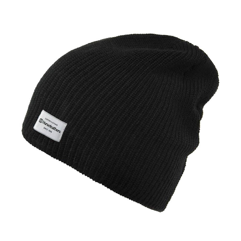 Zimní čepice Horsefeathers Berta black