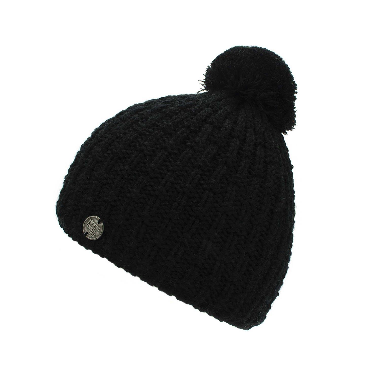 Zimní čepice Horsefeathers Blake black 16/17 + doručení do 24 hodin