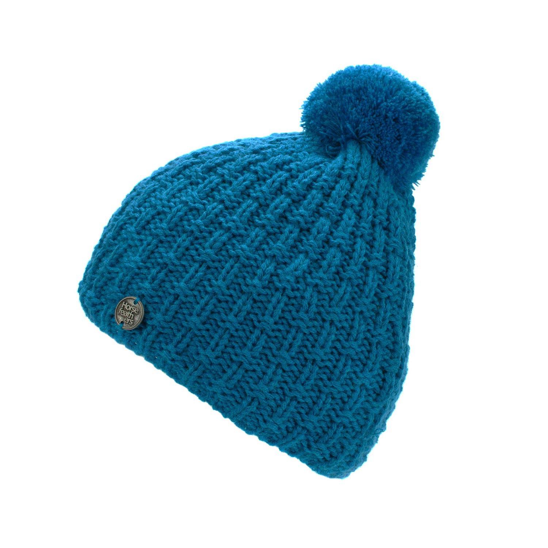 Zimní čepice Horsefeathers Blake blue