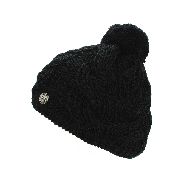 Zimní čepice Horsefeathers Devon black