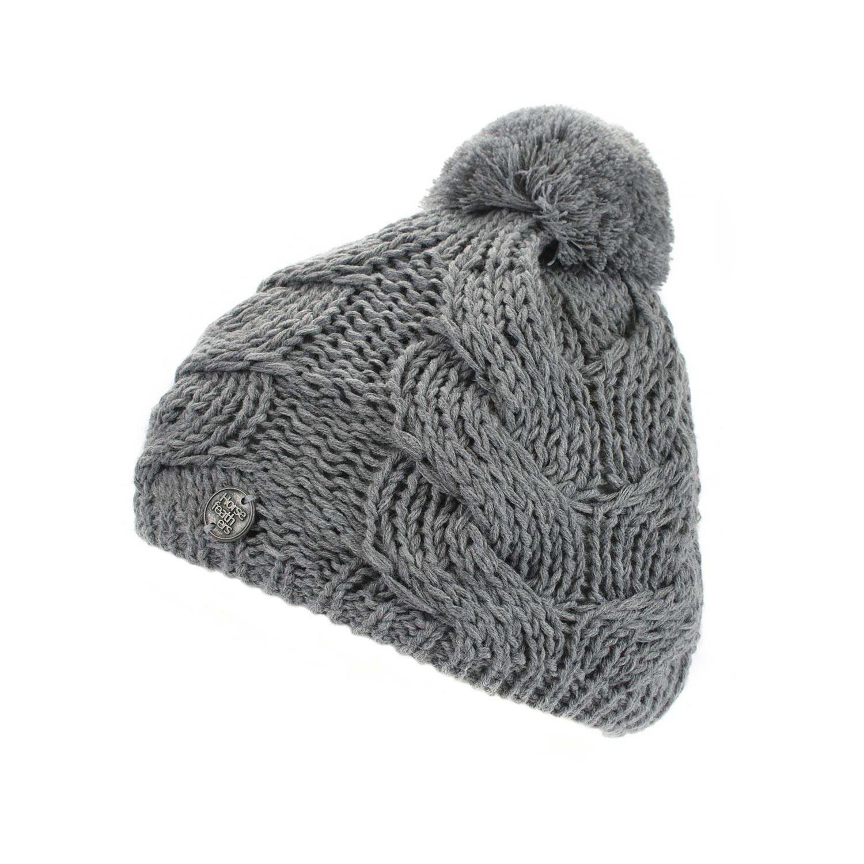 Zimní čepice Horsefeathers Devon heather gray 16/17 + doručení do 24 hodin