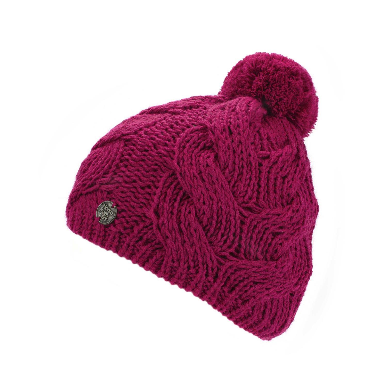 Zimní čepice Horsefeathers Devon pink