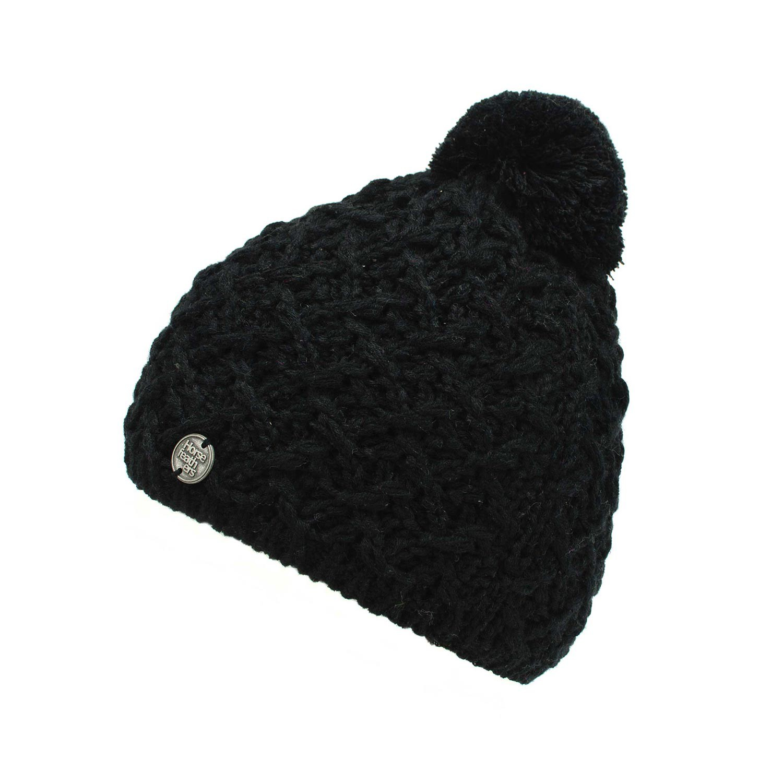 Zimní čepice Horsefeathers Eliz black