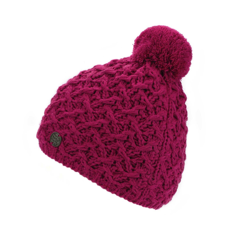Zimní čepice Horsefeathers Eliz pink
