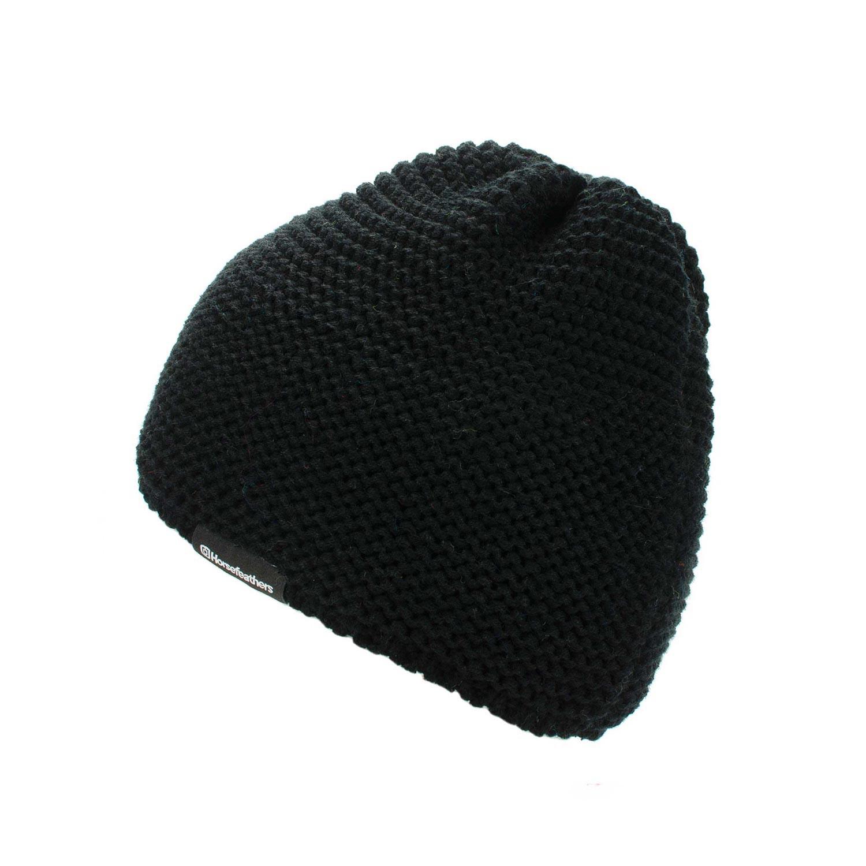 Zimní čepice Horsefeathers Fletcher black 16/17 + doručení do 24 hodin