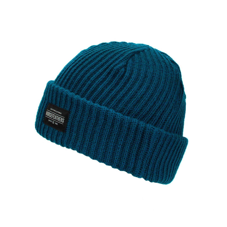 Zimní čepice Horsefeathers Hall dark blue 16/17 + doručení do 24 hodin