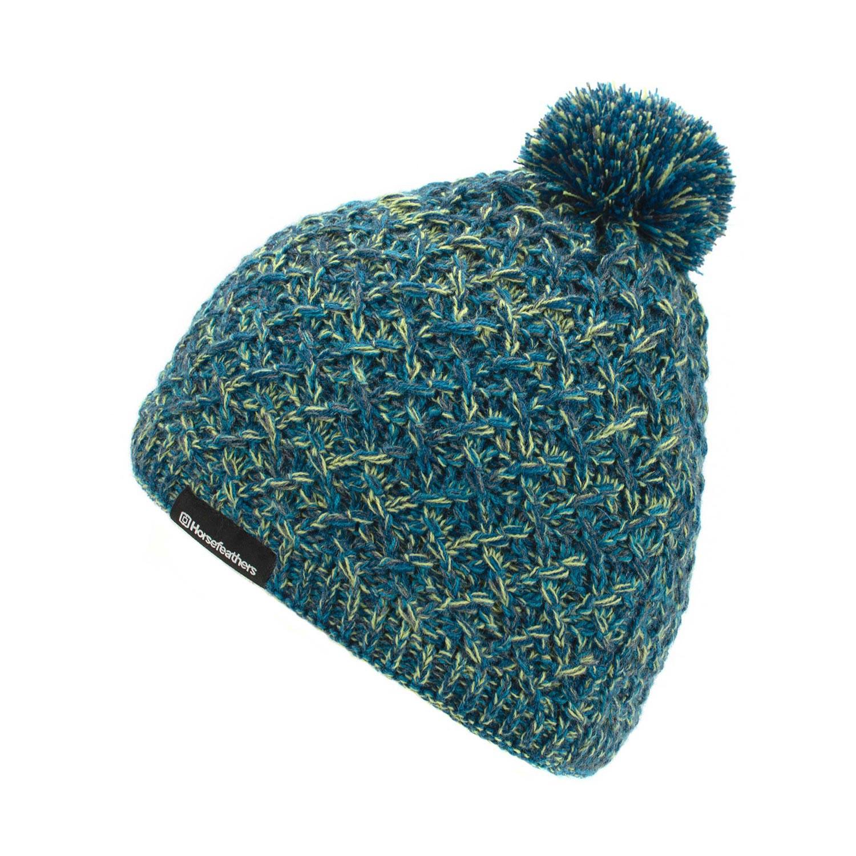 Zimní čepice Horsefeathers Kristel blue
