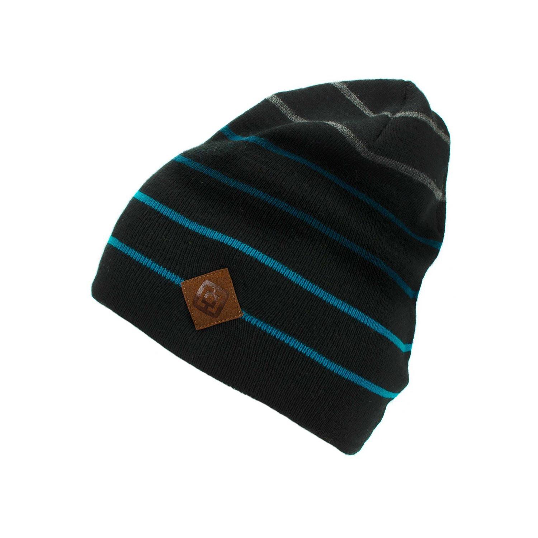 Zimní čepice Horsefeathers Landon black 16/17 + doručení do 24 hodin
