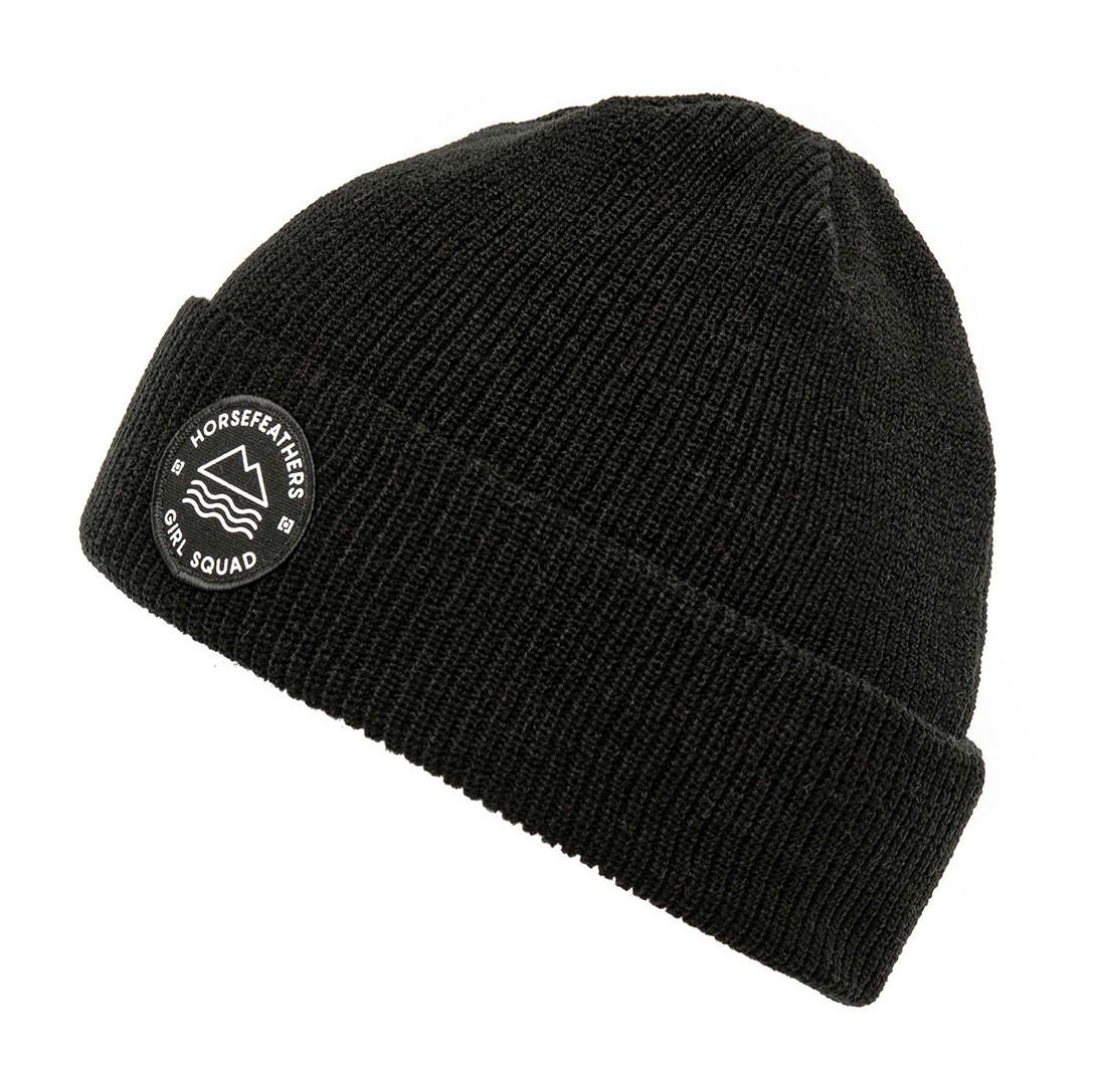 ea535dcacb3 Zimní čepice Horsefeathers Lee black