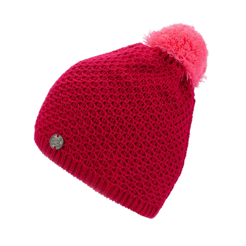 Zimní čepice Horsefeathers Liz pink