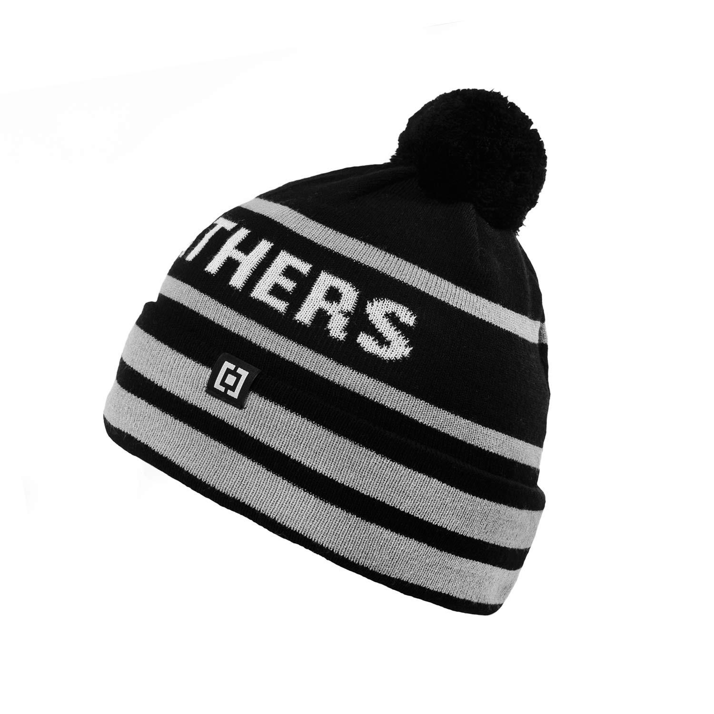 Zimní čepice Horsefeathers Loky black