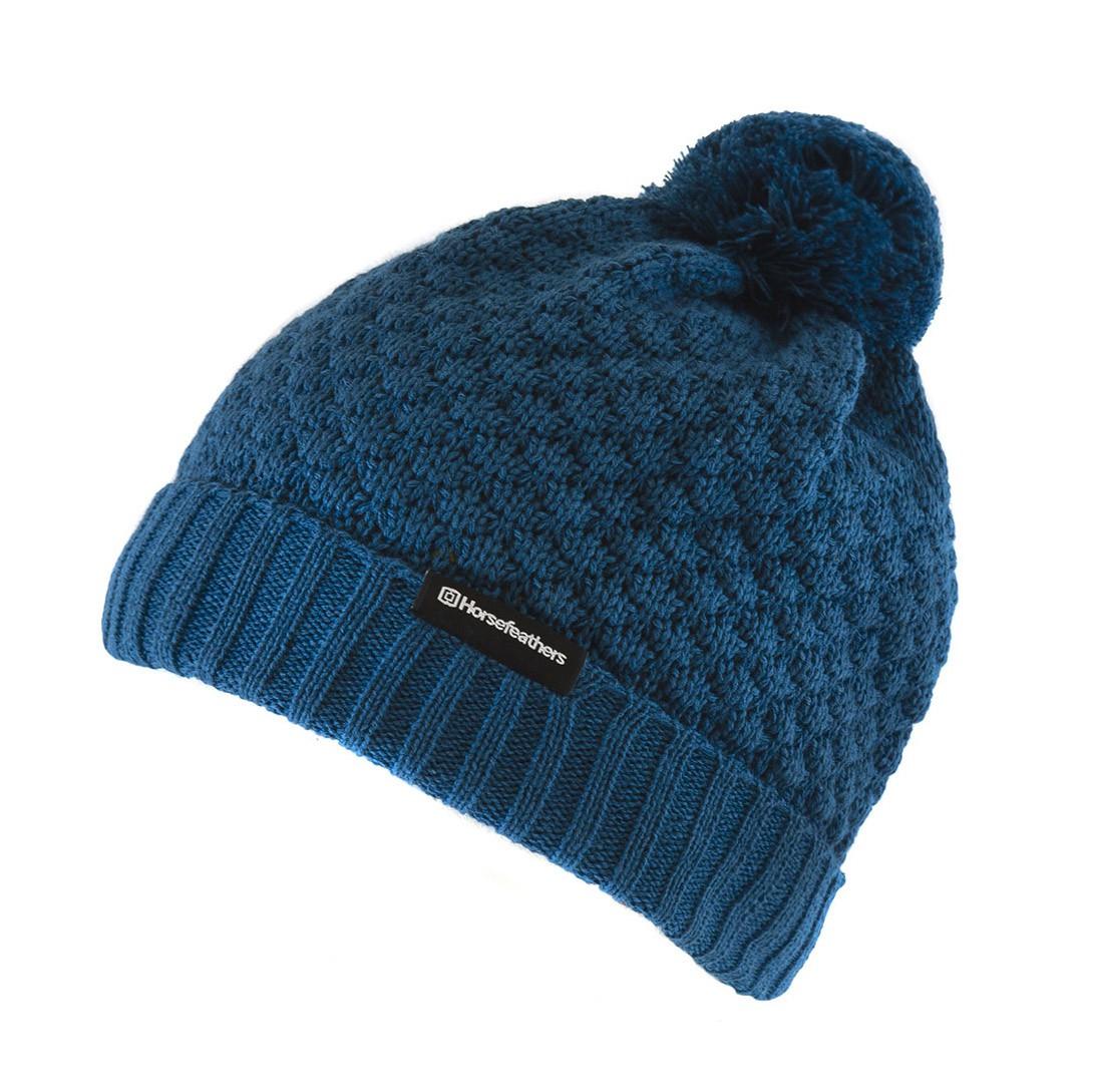 Zimní čepice Horsefeathers Mabel dark blue 15/16 + doručení do 24 hodin