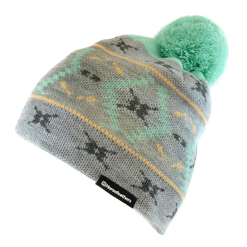 Zimní čepice Horsefeathers Marge heather gray