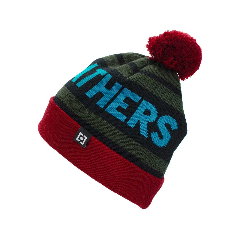 Zimní čepice Horsefeathers Peyton dark red 16/17 + doručení do 24 hodin