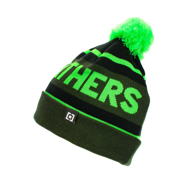 Zimní čepice Horsefeathers Peyton green 16/17 + doručení do 24 hodin