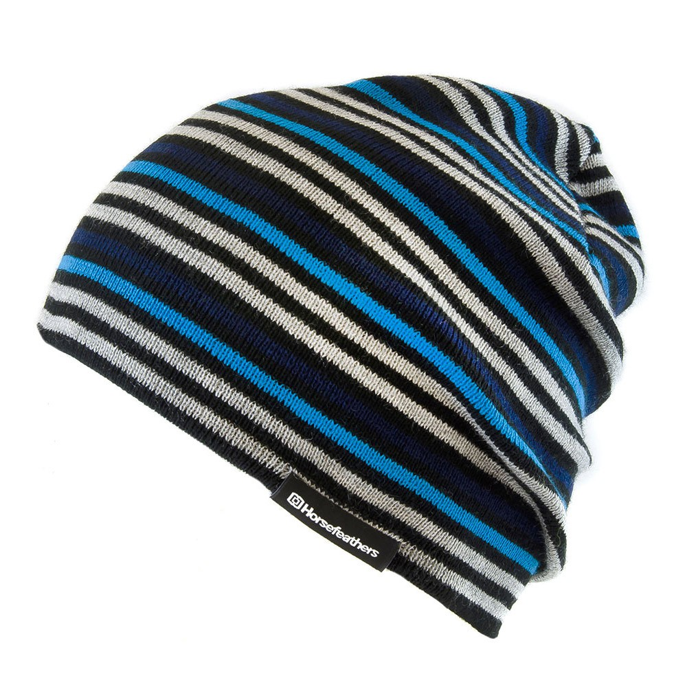 Zimní čepice Horsefeathers Walt blue