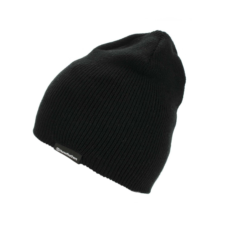 Zimní čepice Horsefeathers Yard black