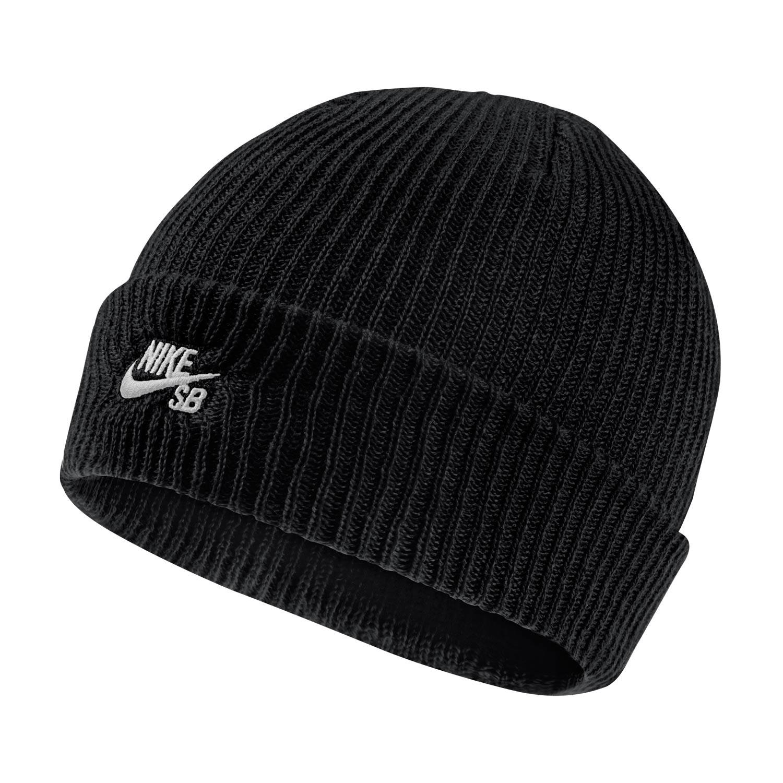Zimní čepice Nike SB Fisherman black/white