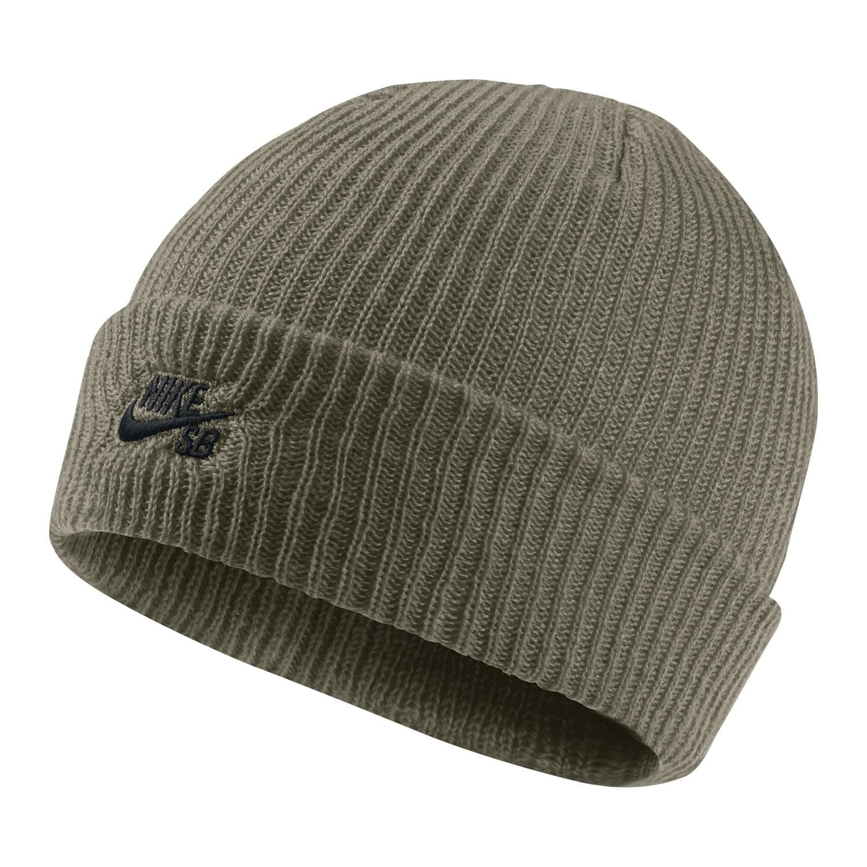 Zimní čepice Nike SB Fisherman medium olive/black