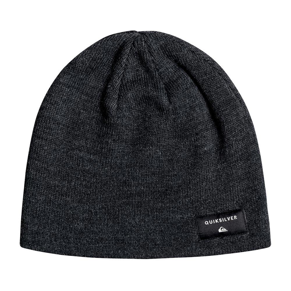 Zimní čepice Quiksilver Cushy dark charcoal heather